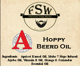 Beard Oil -Label - Avery T