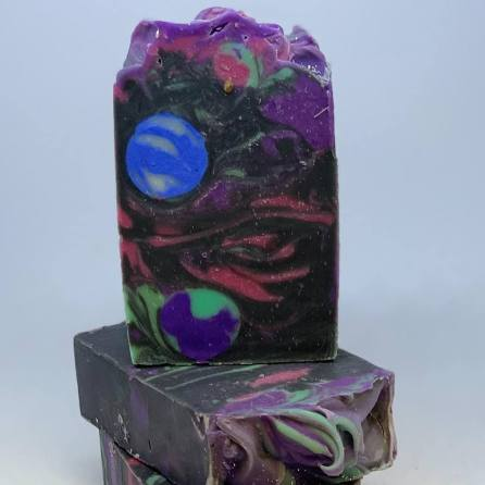 Galaxy soap vibrant