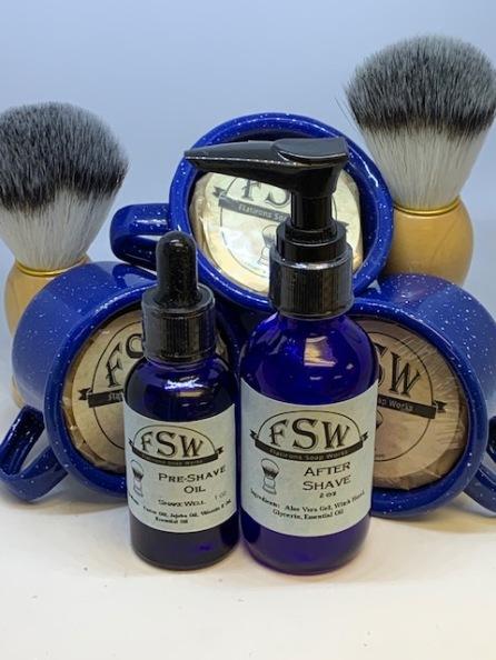 shave kit set